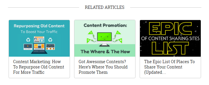 By suggesting further readings into the topic, you'll help readers learn even more while keeping each posts focused.