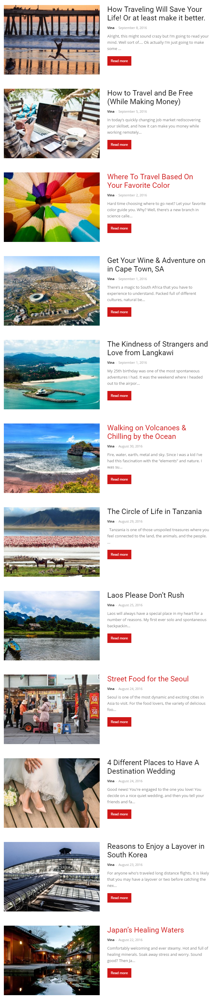 tourders blog