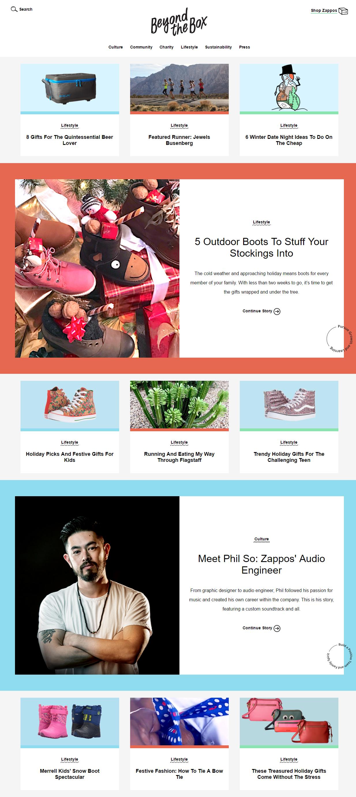 zappos blog