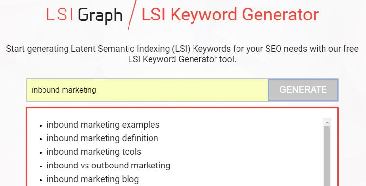 inbound marketing lsigraph