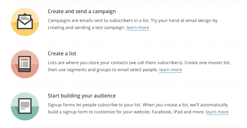 MailChimp is another email marketing platform with focus on a more sophisticated autoresponder system.