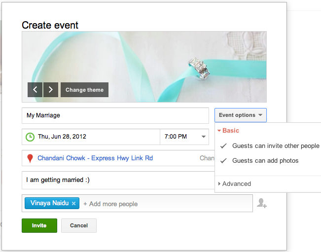 google events is one of the new social media changes this year