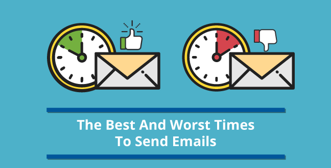 Best And Worst Times To Send Emails
