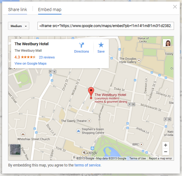 google maps is a great way of improving your on page local seo