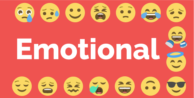People expect cold, salesly tone in emails, so when word like Emotional shows up, it piques the reader's curiosity on how can the subject touch them emotionally.