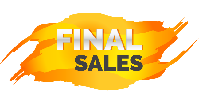 Another power word similar to closing and last chance, Final is absolute, and often means you'll get a good bargain before it's gone.