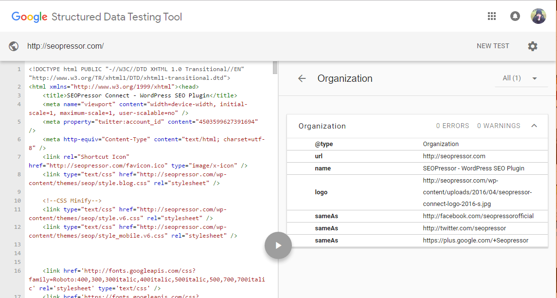 Google Structured Data Testing Tool can help validate your Schema Markup and improve your local results.