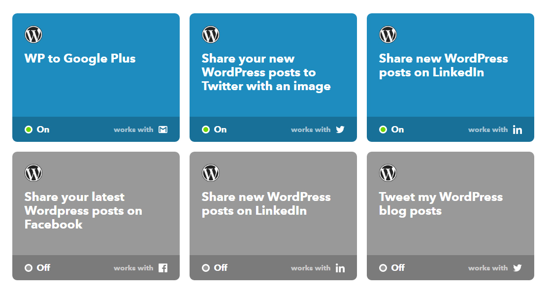 IFTTT allows you to automate a wide range of tasks related to your social media marketing execution.