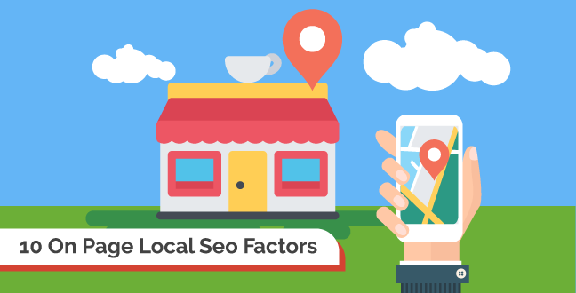 on page local seo factors to rank your local business