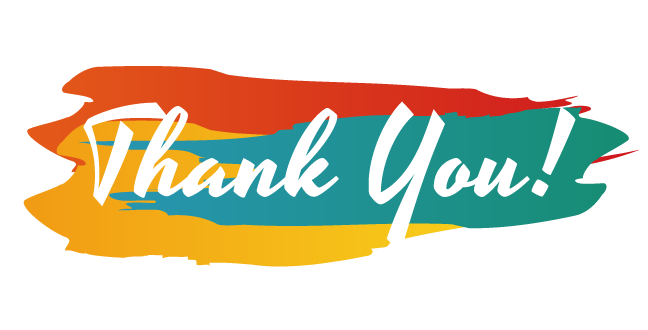 """""""Thank You"""" is one of the catchy words that shows appreciation and hints a reward."""