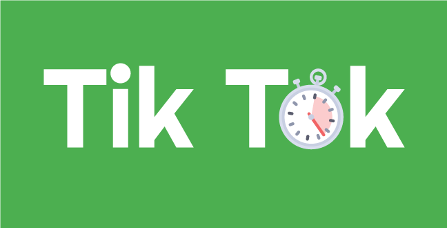 An informal word, Tik Tok is widely known as the word that symbolizes countdown. It tells the same story of time limitation in a subtle, and at times, dreadful way.