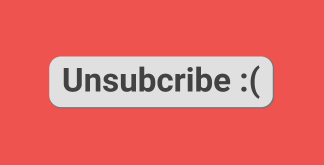 lowering unsubscribe rate could be added to your list of marketing kpi
