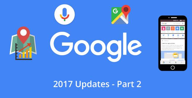 Google Updates 2017