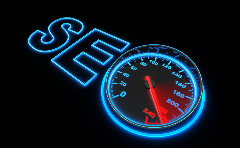 Picture of SEO speed meter site speed and seo