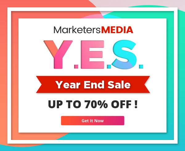 MarketersMEDIA Year End Sale (YES)