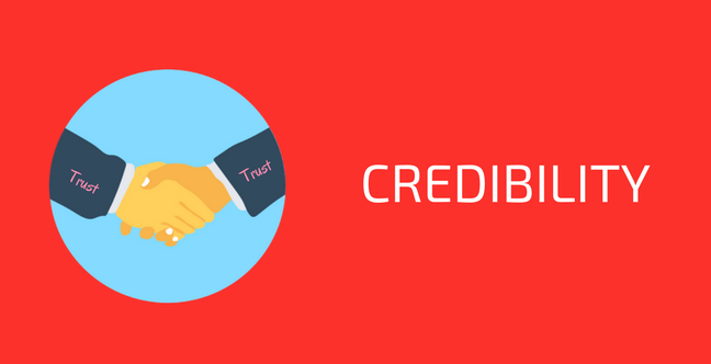 Credibility for SEO