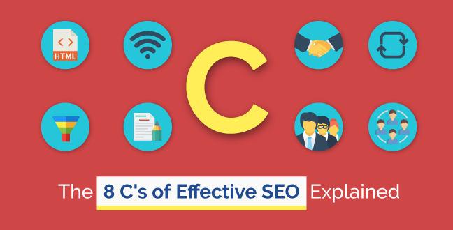 The 8 C's of Effective SEO Explained