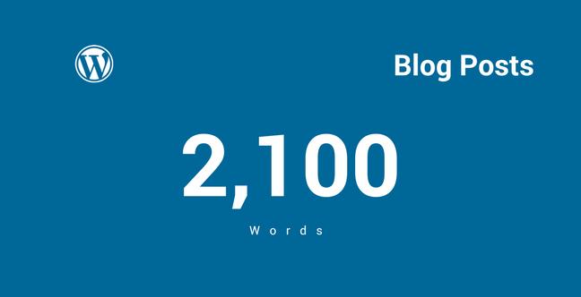 Blog Post Ideal Length
