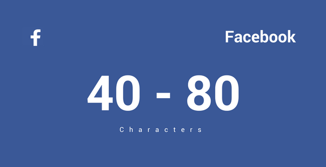 Picture of Facebook Ideal Length