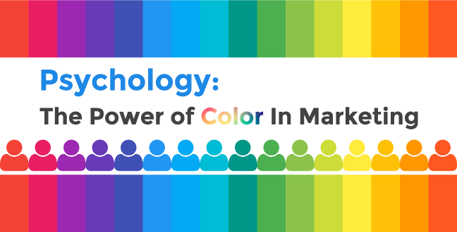 Psychology the power of color in marketing psychology the power of marketing malvernweather Images