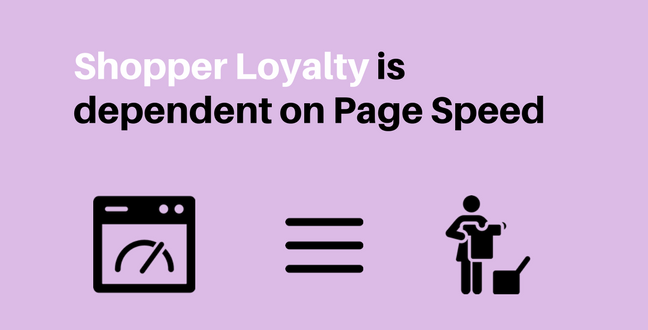 fast load time maintains shopper loyalty