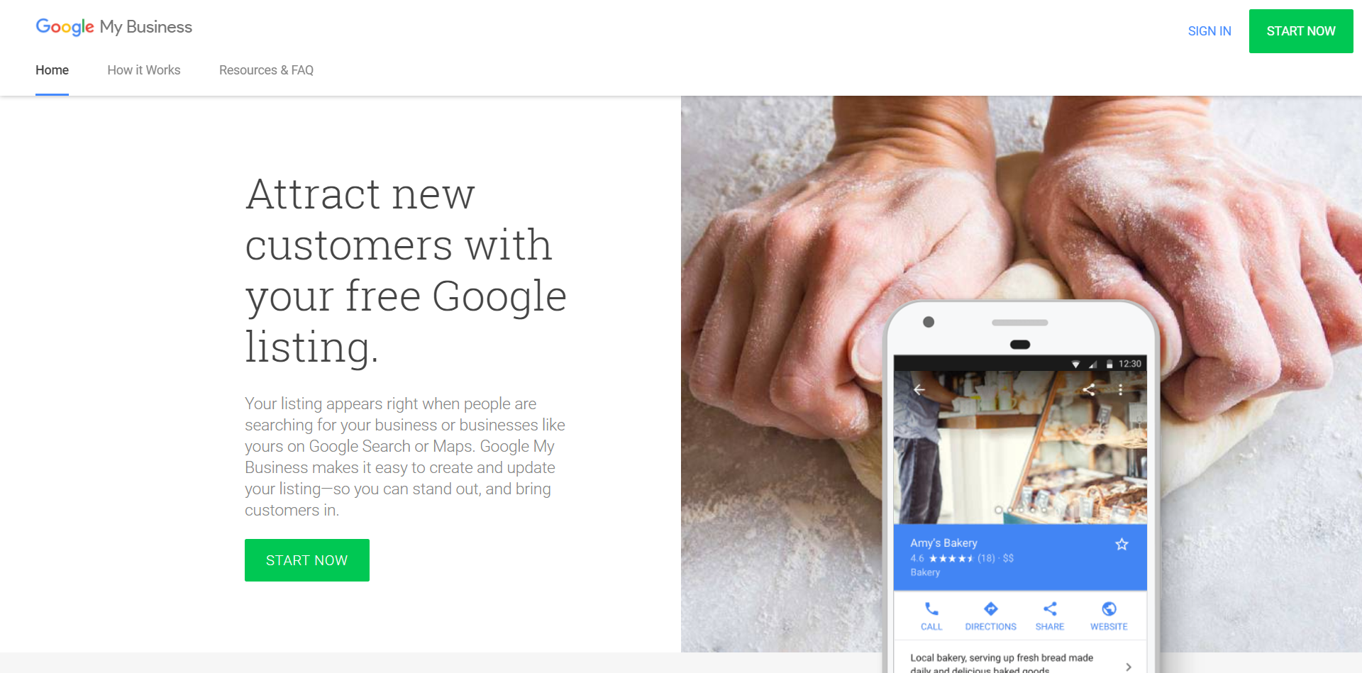 google my business signup