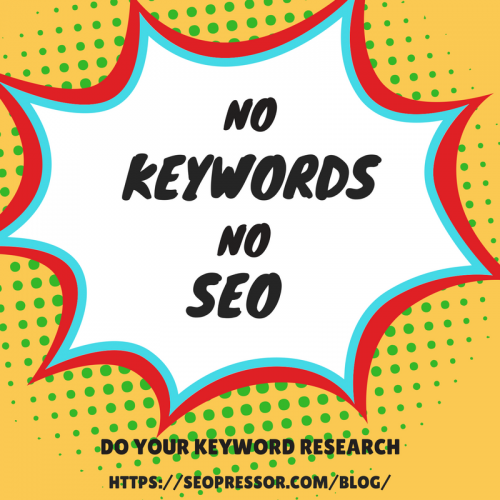 no keywords no serp
