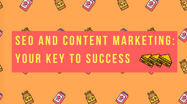 SEO AND CONTENT MARKETING YOUR KEY TO SUCCESS