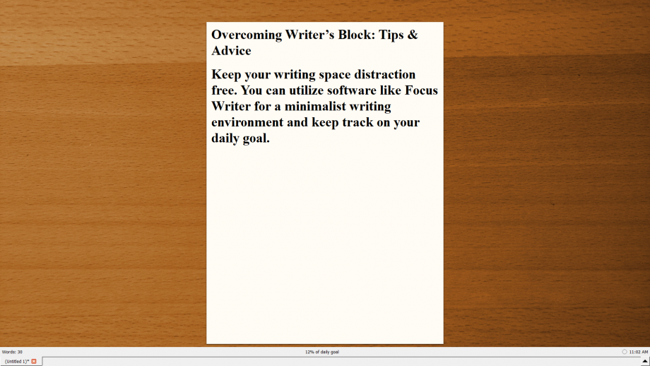 Type Writer interface 1.1