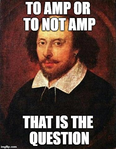 to amp or not amp meme