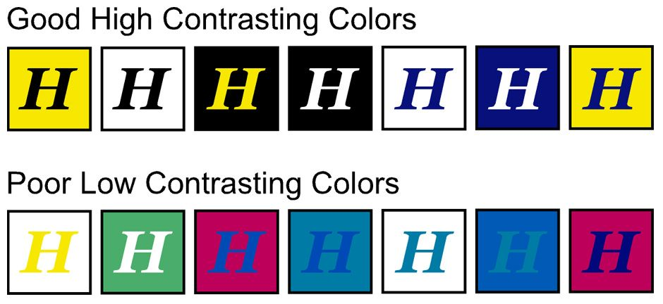 contrasting colors for effective CTA buttons