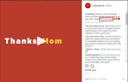 mcdonalds hashtag