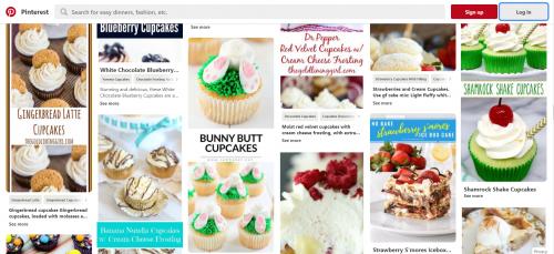 pinterest cupcake