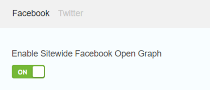 enable sitewide facebook open graph