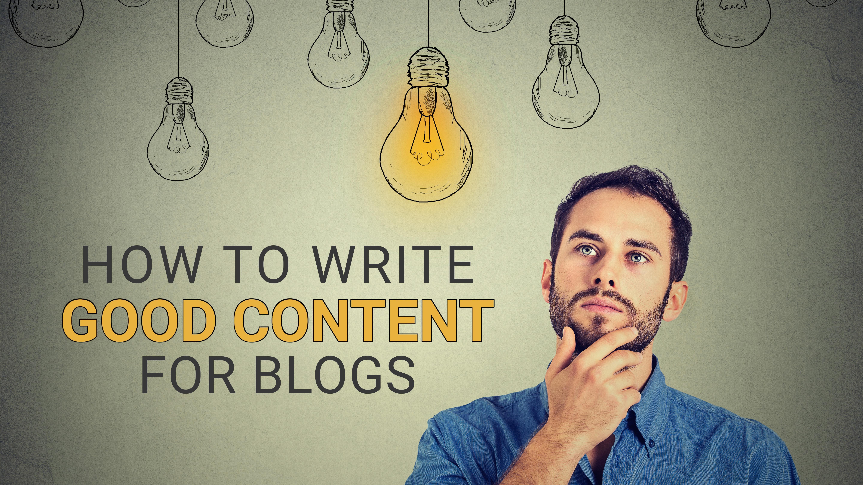 write good content