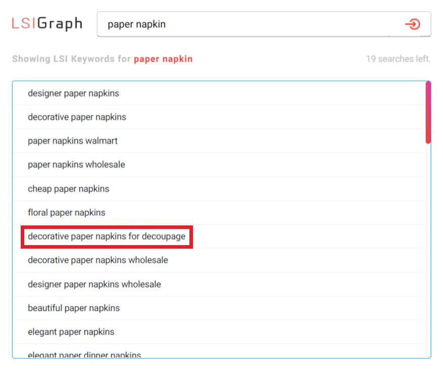 LSIGraph-keyword