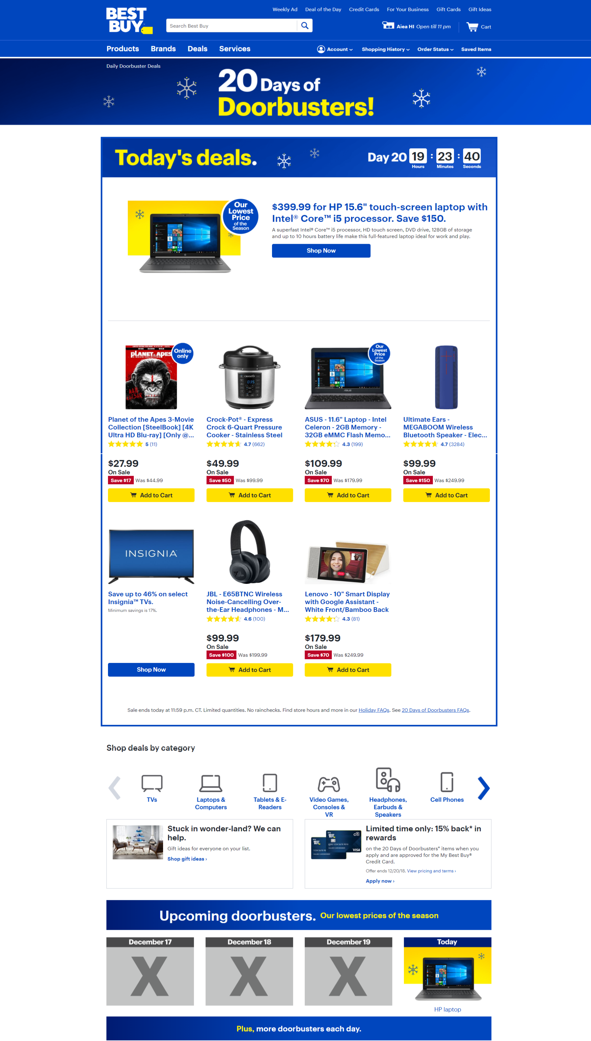 Best Buy Christmas Sale