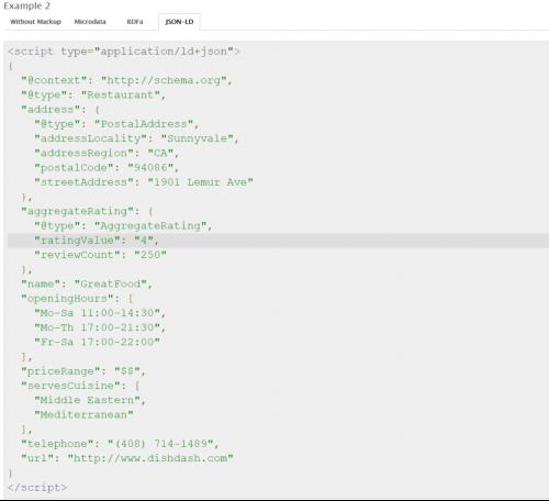 schema org example 3