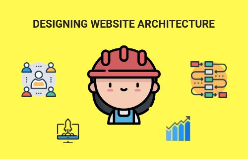 Website architecture internal linking