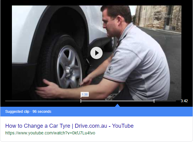 how to change a car tyre - Google Search
