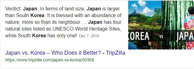 japan korea comparison travel - Google Search