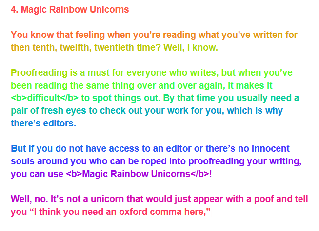 Magic Rainbow Unicorns