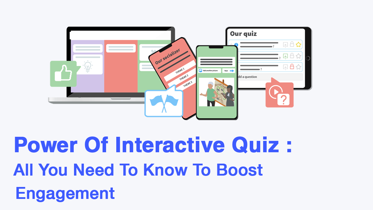 Power Of Interactive Quiz : All You Need To Know To Boost Engagement