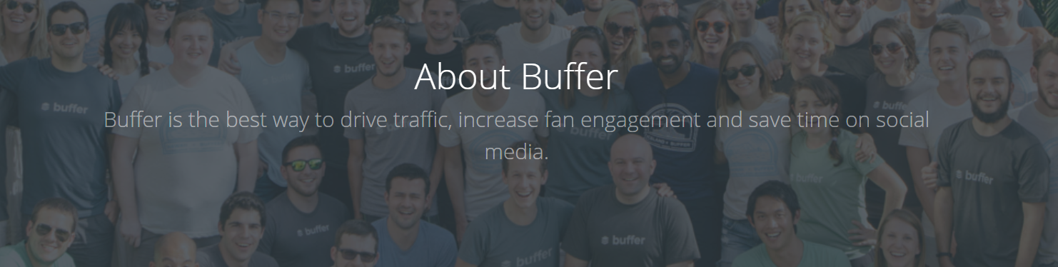 Buffer craft compelling value in headline