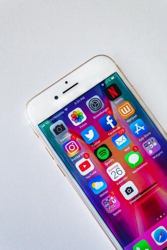 Social media; Facebook, Instagram and Twitter.