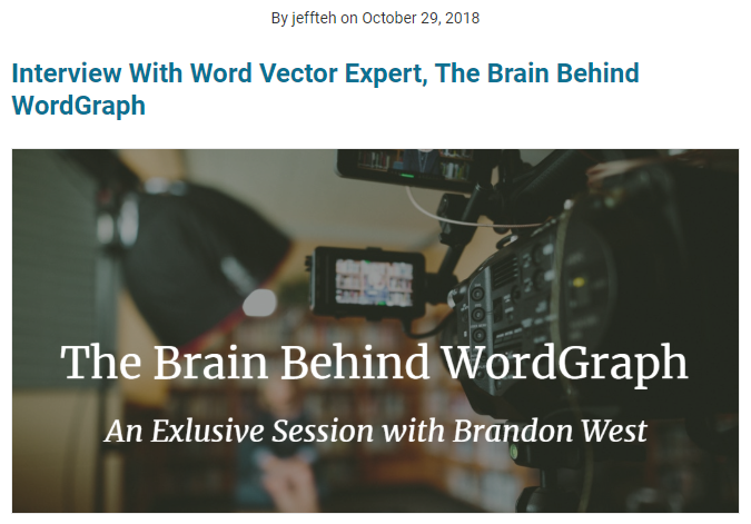Interview with Brandon West