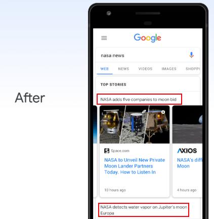 Google News Update - After