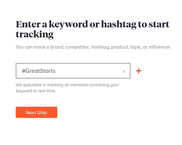 Keyhole Hashtag Tracking