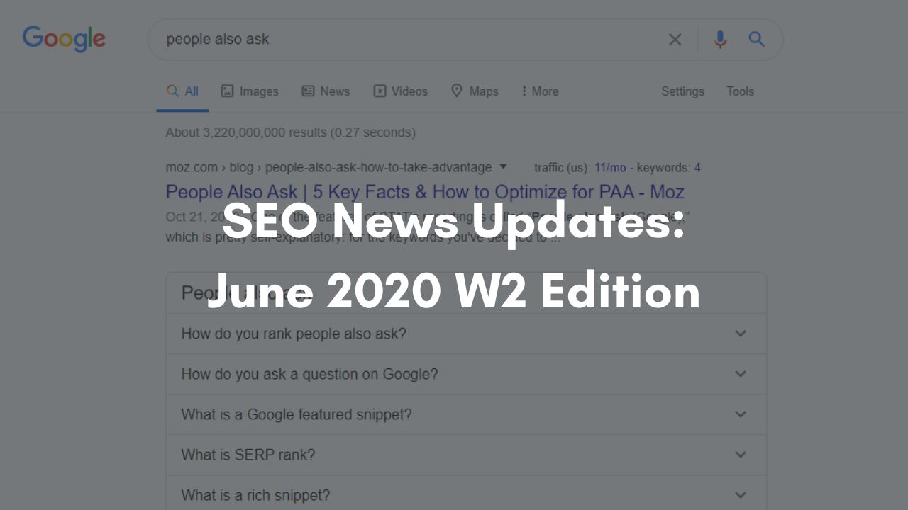 SEO News updates